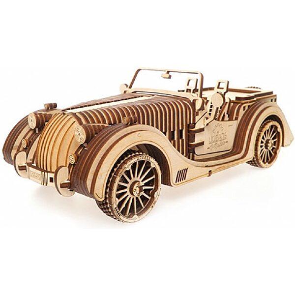 UGEARS Roadster autó- mechanikus famodell - 1. Kép