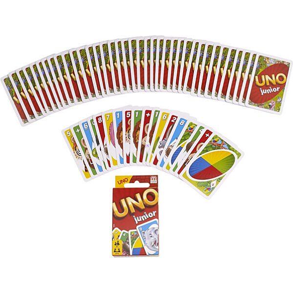 UNO Junior kártyajáték - 1. Kép