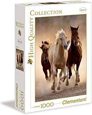 Vágtázó lovak 1000 db-os puzzle - Clementoni - 3. Kép