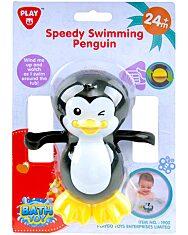 Vidám úszó bébipingvin - 1. Kép