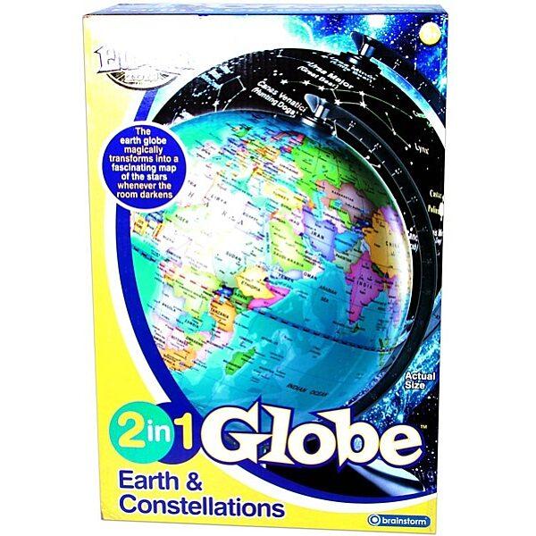 Világító földgömb 2 az 1-ben - 1. Kép