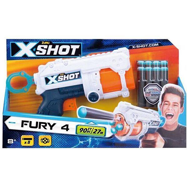X-Shot: FURY 4 szivacslövő fegyver - 1. Kép
