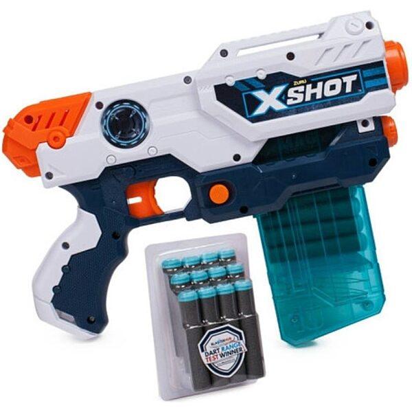 X-Shot Hurricane szivacslövő játékpisztoly - fehér - 3. Kép