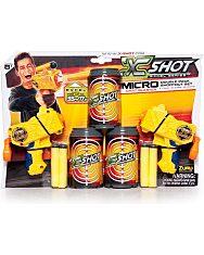 X-Shot: Micro dupla szivacslövő pisztolykészlet - 1. Kép