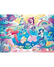A tenger alatt (Under the sea) - 104 db-os csillámos puzzle - 2. Kép