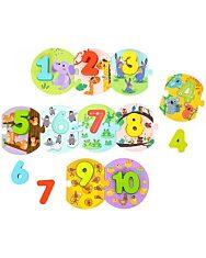 Állatkás számkirakó játék - 1. Kép