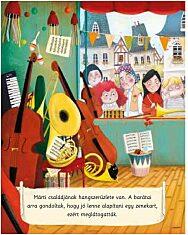 Barátkozz a hangszerekkel - zenélő könyv - 2. Kép