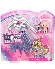Barbie: Princess Adventure - Divatcsomag malac kiskedvenccel - 1. Kép