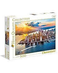 Clementoni Puzzle - New York 500 darabos - 2. Kép