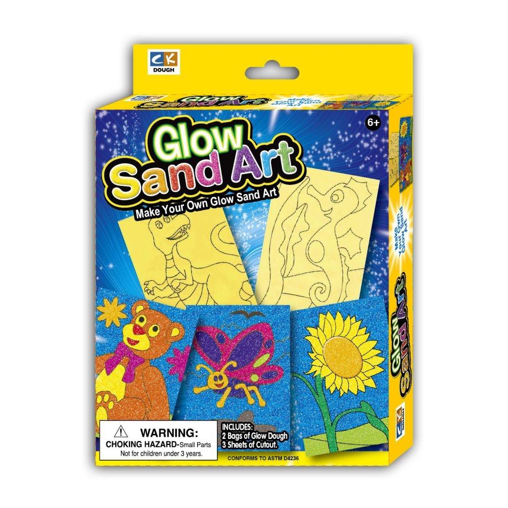 Creativ Kids Fluoreszkáló homokművészet - 1. Kép