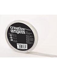 Creative Angel díszkötöző szatén szalag - ezüst - 1. Kép