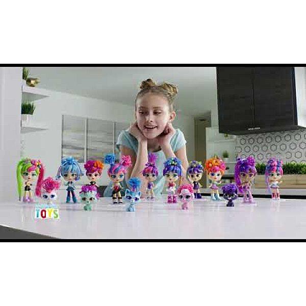 CurliGirls - Varázslokni babák: Varázslokni Babák - barátnők kisállattal játékszett - 4. Kép