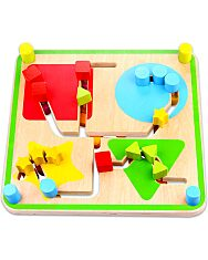 Fa labirintus játék - 2. Kép