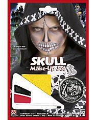 Halloween arcfesték - csontváz - 1. Kép