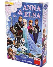 Jégvarázs Anna és Elsa társasjáték - 1. Kép