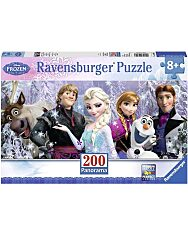 Jégvarázs barátok 200 darabos XXL panoráma puzzle - 1. Kép