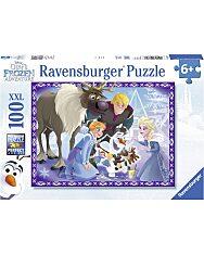 Jégvarázs család 100 darabos XXL puzzle - 1. Kép