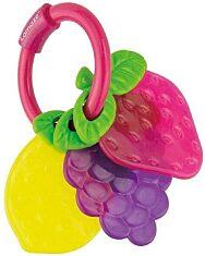 Lamaze: Gyümölcsös rágóka sötét - rózsaszín - 2. Kép