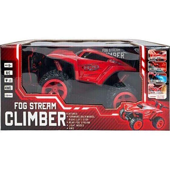 Ledes Climber járgány kipufogófüsttel - piros