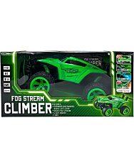 Ledes Climber járgány kipufogófüsttel - zöld