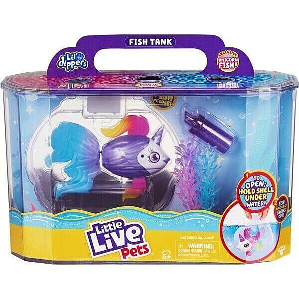 Little Live Pets: Úszkáló halacska akváriummal