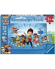 Mancs őrjárat és Ryder 2 x 12 darabos puzzle - 1. Kép