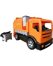 Műanyag kukás autó - 72 cm - 1. Kép