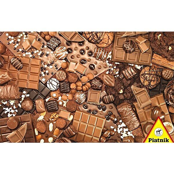 Piatnik puzzle 1000 db - Csokoládé válogatás - 1. Kép