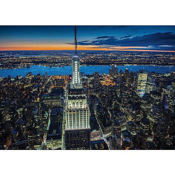 Piatnik puzzle 1000 db - New York by night - 1. Kép