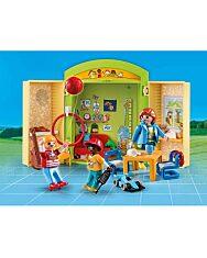 Playmobil: Az óvodában - hordozható játékbox - 2. Kép