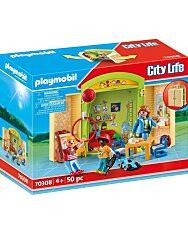 Playmobil: Az óvodában - hordozható játékbox - 1. Kép
