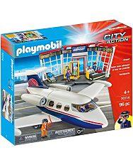 Playmobil: Repülőtér repülővel 70114 - 1. Kép