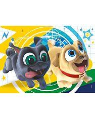 Disney Kutyapajtik 2 az 1-ben (2x20 db-os) Szuperszínes puzzle - 2. Kép