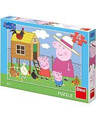 Puzzle 24 db - Peppa malac - 1. Kép