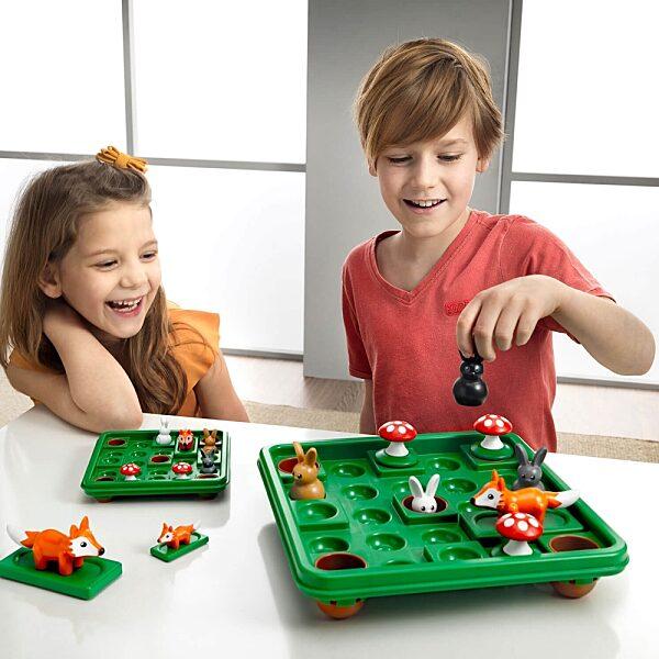 Smart Games Nyúlugró XXL logikai játék - 3. Kép