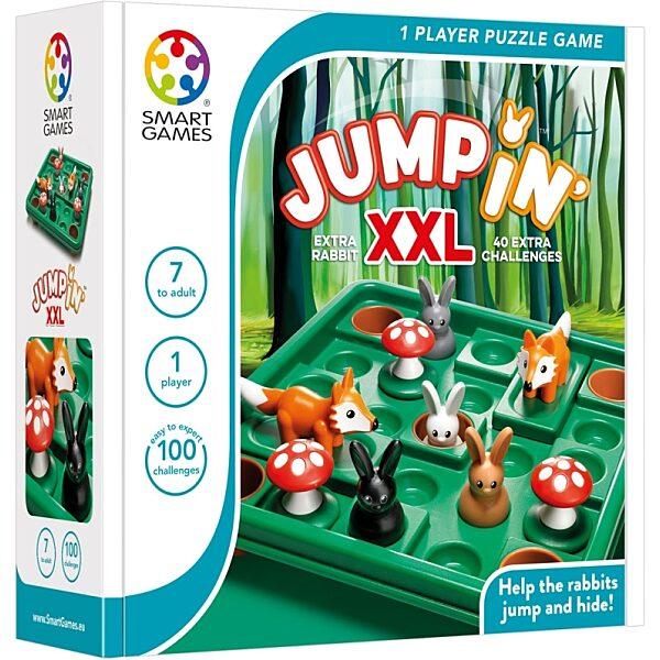 Smart Games Nyúlugró XXL logikai játék - 1. Kép