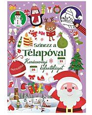 Színezz a Télapóval - Karácsonyi kifestőfüzet - 1. Kép