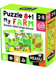 Headu: Puzzle 8+1 - Az Én Farmom - 1. Kép