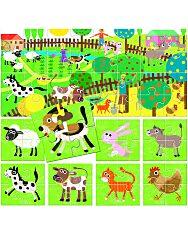 Headu: Puzzle 8+1 - Az Én Farmom - 2. Kép