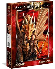 Anne Stokes Collection-Inner Strenght (1000) - 2. Kép