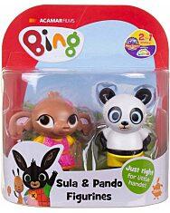 Bing - Sula és Pando 2 darabos játékfigura szett