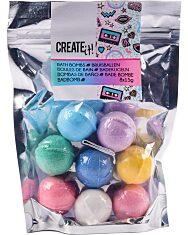 Canenco Create It! Mini fürdőgolyó 8 db-os szett, neon színekben