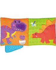 Dinoszaurusz rágókás könyv - 2. Kép