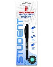 ICO: Student Radiron törölhető kék tintás zselés toll - kétféle - 2. Kép