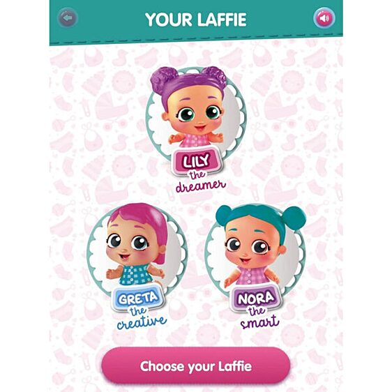 Laffies: Kacagó babák - Lili