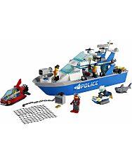 LEGO City: Police Rendőrségi járőrcsónak 60277 - 2. Kép