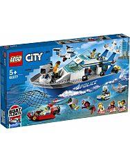 LEGO City: Police Rendőrségi járőrcsónak 60277 - 1. Kép