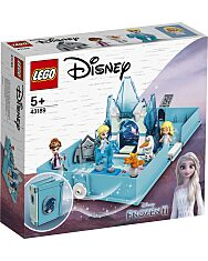 LEGO Disney Princess: Elza és a Nokk mesekönyve 43189 - 1. Kép