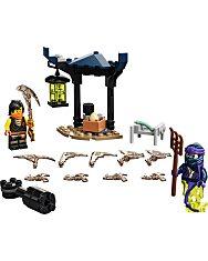 LEGO Ninjago: Hősi harci készlet - Cole vs Kísértetharcos 71733 - 2. Kép