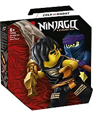 LEGO Ninjago: Hősi harci készlet - Cole vs Kísértetharcos 71733 - 1. Kép